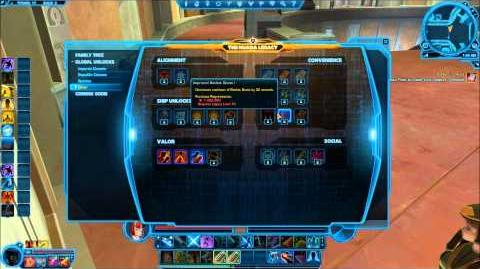Legacy Creation - Star Wars The Old Republic