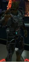 Unidentified Mandalorian Captain