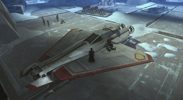 File:Talon-class Republic starfighter landed.jpg