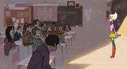 Sherman High School - Classroom 01 - Concept Art