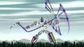 Sym-Bionic Titan (mech) using Cronus Chain against the Dragon Creature in Disenfranchised 02.png