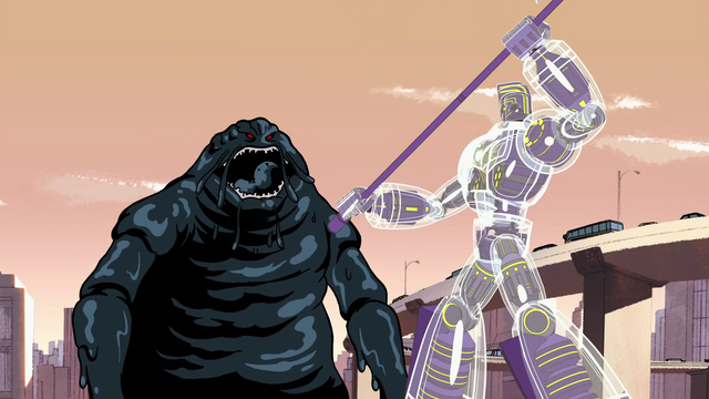 File:Blob Monster fighting Sym-Bionic Titan (mech) in Showdown at Sherman High 01.png