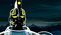 Sym-Bionic Titan (mech) examining the Mutraddi object in Shaman of Fear 02.png