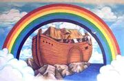 Noahs ark rainbow