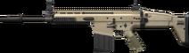 MK16 Scar L Sideview