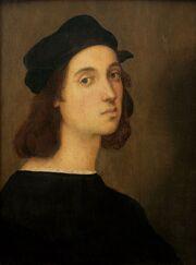 Selfportrait of Raffaelo, Uffizi Florence