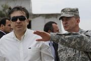 Cold Saakashvili General William Garrett