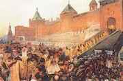 False Dimitry entering Moscow June 20th 1605