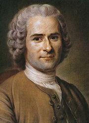 Jean-Jacques Rousseau (painted portrait)