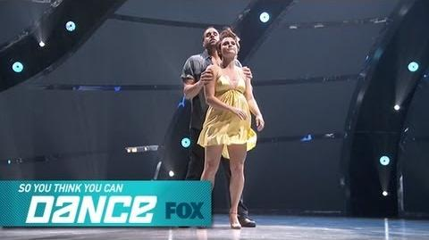 Aaron & Melanie Top 6 Perform SO YOU THINK YOU CAN DANCE FOX BROADCASTING