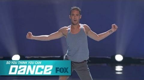 Tucker Solo Top 12 Perform SO YOU THINK YOU CAN DANCE FOX BROADCASTING