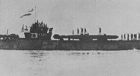 Japanese submarine I-361
