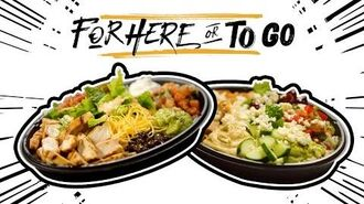 """Power Menu Bowl Hacks - Taco Bell's """"For Here or To Go"""""""