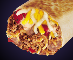 how to make a volcano burrito from taco bell