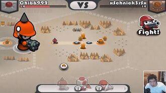 Tactile Wars mercenary - Gatling