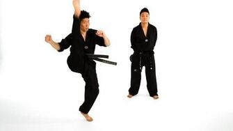 How to Do an Axe Kick Taekwondo Training