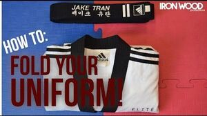 How to Fold your Martial Arts Uniform!