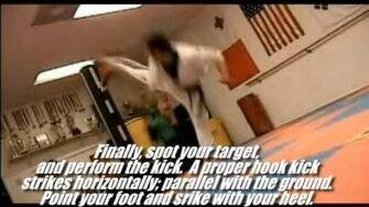 Taekwondo 540 Spinning Hook Kick Tutorial (Kwonkicker)