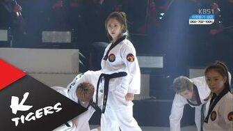 K-Tigers & Choi So-ri Performence