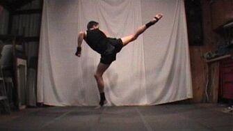 Taekwondo Jump Spin Hook Kick Tutorial (Kwonkicker)-0