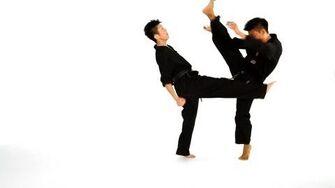 How to Do an Inside & Outside Crescent Taekwondo Training