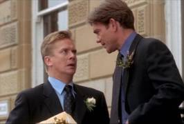 File:Robbie and Michael outside the Registry Office.jpg