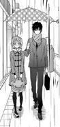 Hiro and sugimoto at rain