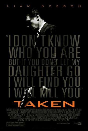Taken poster