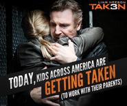 Taken 3 meme poster- take your child to work day