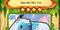 Papa Moo Moo Cow (card)