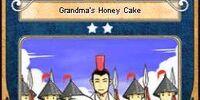 Grandma's Honey Cake