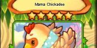 Mama Chickadee (card)