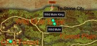 Wild Mule King (quest) map