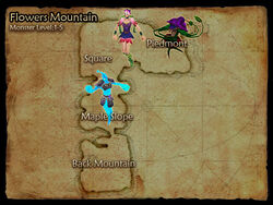 Flowers Mountain map