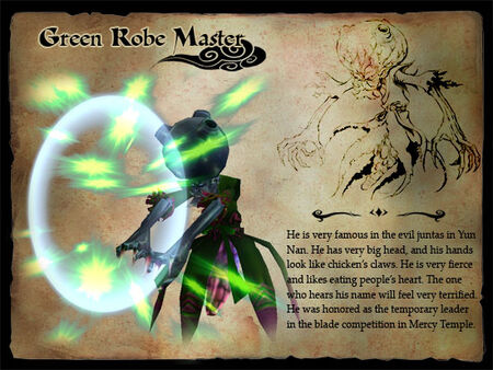 Green Robe Master