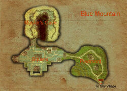 Blue Mountain map