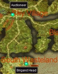 Brigand Head Wanted map