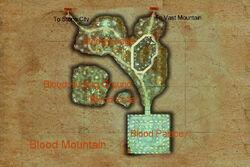 Blood Mountain map