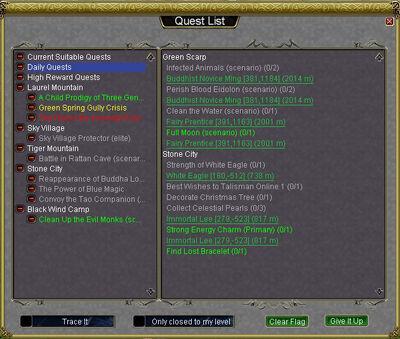Quest List 3