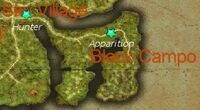 The Truant Apparition map