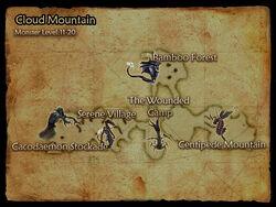 Cloud Mountain map