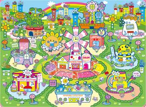 Flower hills artwork