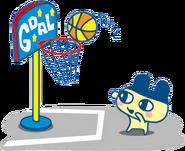 Mametchi basketball