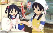 Anko Tamako Dera and mochi