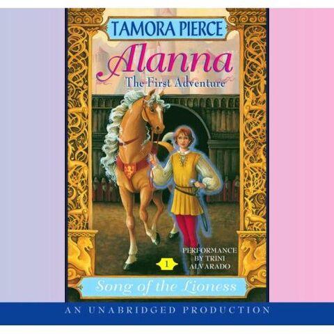 File:Alanna- The First Adventure by Tamora Pierce (unabriged audio).jpg