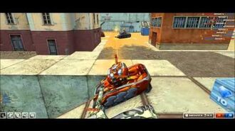 TO Tanki Online - Gameplay 3° (Railgun M3 - Hornet M3 - Inferno)