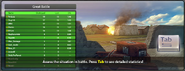 Loading Banner controls tab statistics
