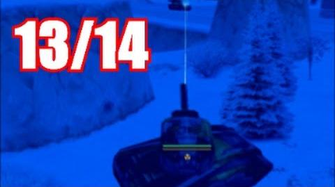 "Tanki Online ""Happy new year"" map gameplay 13 Танки Онлайн ""С новым годом"" №13"