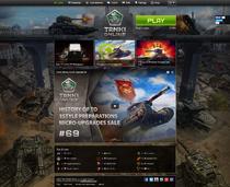 Tanki Online homepage - November 2015