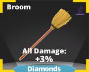 Broom sword